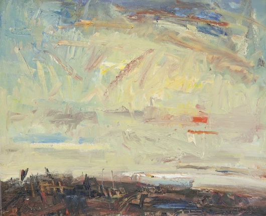 Seascape Painting by British artist Gareth Parry