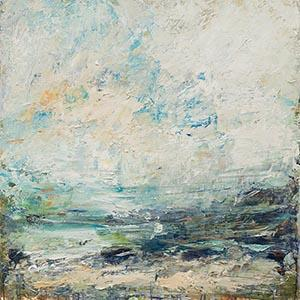 Tide, Green, sea, abstract, painting