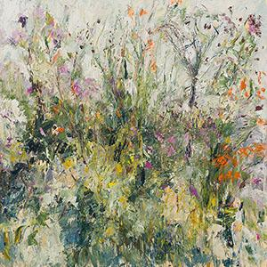 hedgerows, late summer, oil, painting, buxton