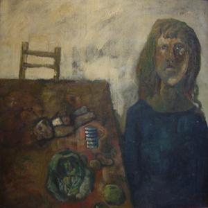 Girl at Table c.1958