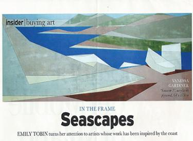 seascapes, article, art, painting, emily tobin